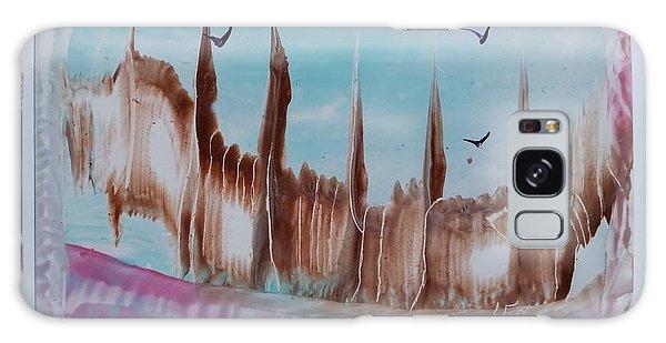 Abstract Castles Galaxy Case