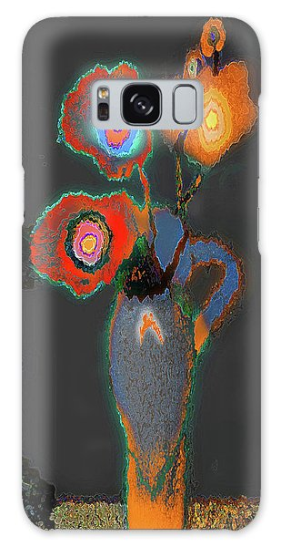 Abstract Floral Art 367 Galaxy Case