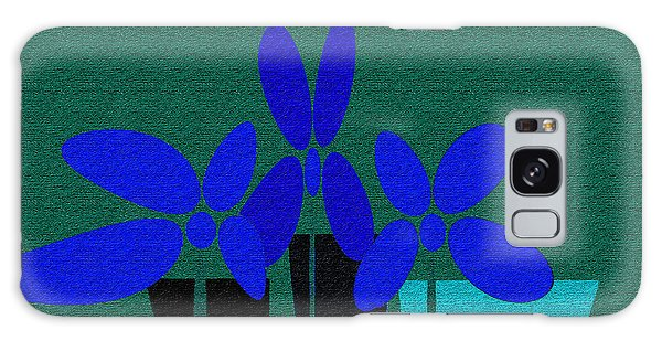 Abstract Floral Art 392 Galaxy Case