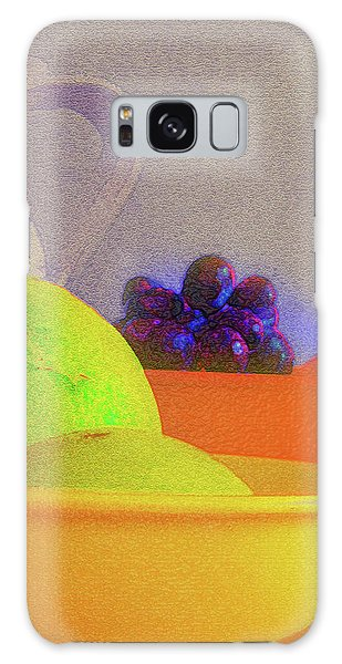 Abstract Fruit Art   106 Galaxy Case