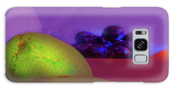 Abstract Fruit Art  109 Galaxy Case
