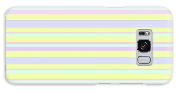 Abstract Horizontal Fresh Lines Background - Dde596 Galaxy Case