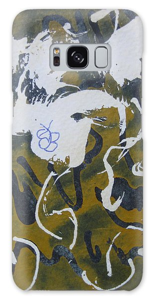 Abstract Human Figure Galaxy Case