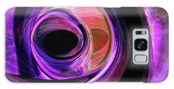 Colours Galaxy Case - Abstract Rendered Artwork 3 by Johan Swanepoel