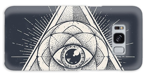 Beam Galaxy Case - Abstract Sacred Geometry. Geometric by Vecster