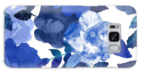 Imagery Galaxy Case - Abstract Seamless Watercolor Hand by Zubkova Iuliia