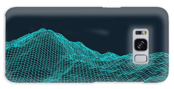 Form Galaxy Case - Abstract Vector Landscape Background by Login