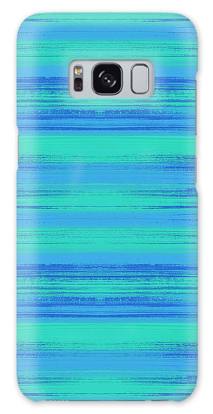 Abstract Vibrant Beach Background Galaxy Case