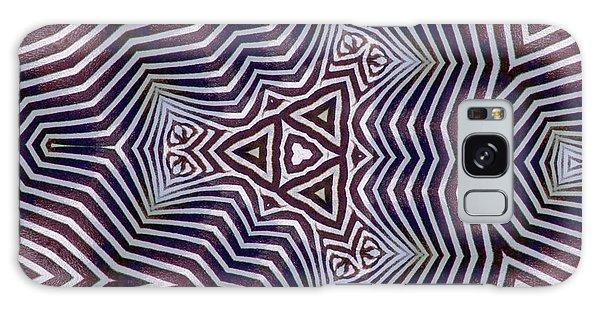 Abstract Zebra Design Galaxy Case