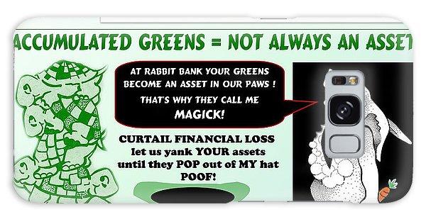 Accumulated Greens Galaxy Case