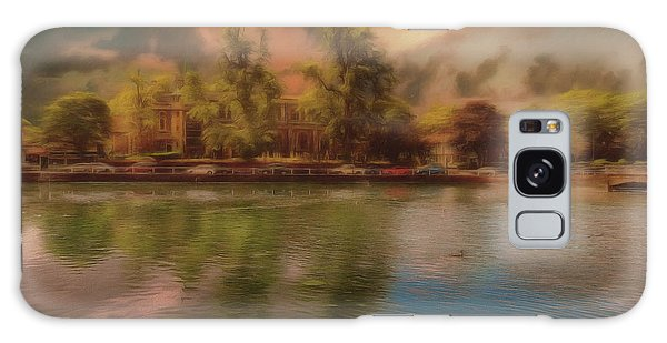Galaxy Case featuring the photograph Across The Water by Leigh Kemp