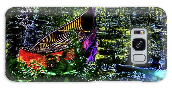 Galaxy Case featuring the photograph Adirondack Guide Boat by David Patterson