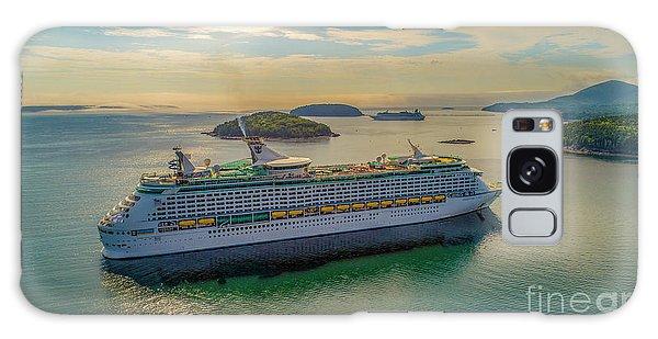 Adventure Of The Seas, Bar Harbor  Galaxy Case