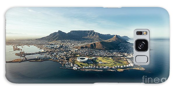 Angle Galaxy Case - Aerial Coastal View Of Cape Town. View by Jacob Lund