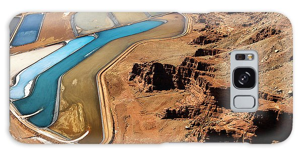 Wasted Galaxy Case - Aerial Landscape Of Tailing Ponds For by Iofoto
