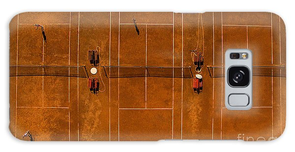 Angle Galaxy Case - Aerial Shot Of A Tennis Courts With by L I G H T P O E T