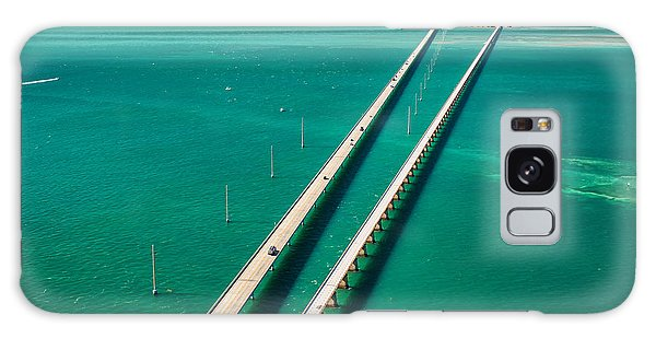 Attraction Galaxy Case - Aerial View Looking West Along The by Floridastock