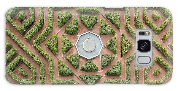 Decorative Galaxy Case - Aerial View Of A Hedge Maze by Javier Rosano