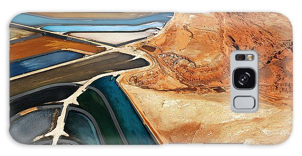 Horizontal Galaxy Case - Aerial View Of An Arid, Craggy by Iofoto