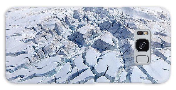 Travel Destinations Galaxy Case - Aerial View Of Franz Josef Glacier From by Jakrit Jiraratwaro