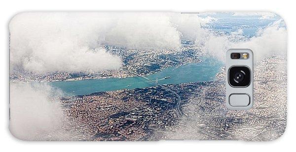 Plane Galaxy Case - Aerial View Of Istanbul by Koraysa