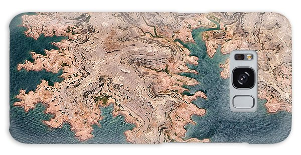 Geology Galaxy Case - Aerial View Of Lake Mead From Above by Romrodphoto