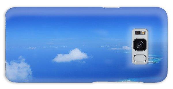 Travel Destinations Galaxy Case - Aerial View Of Maldives Islands In by Ljupco Smokovski