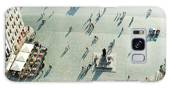 Cultural Center Galaxy Case - Aerial View Of  Neumarkt Square In by Joyfull