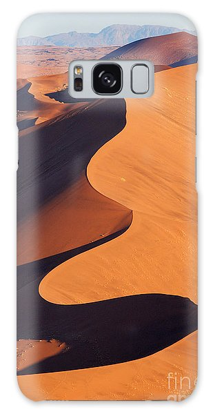 Plane Galaxy Case - Aerial View Of The Namib Desert by Orxy