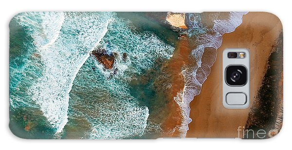 Australia Galaxy Case - Aerial View Of Twelve Apostles At Dawn by Pisaphotography