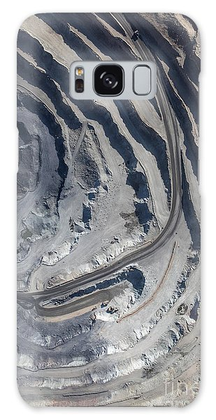 Geology Galaxy Case - Aerial View To The Iron Ore Open Mine by M.khebra
