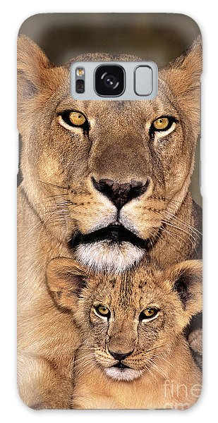 African Lions Parenthood Wildlife Rescue Galaxy Case