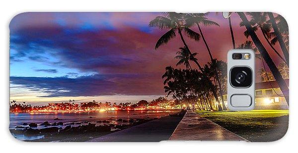 After Sunset At Kona Inn Galaxy Case