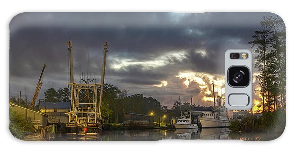 Galaxy Case featuring the photograph After The Storm Sunrise by Cindy Lark Hartman