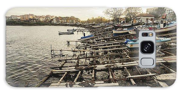 Ahtopol Fishing Town Galaxy Case