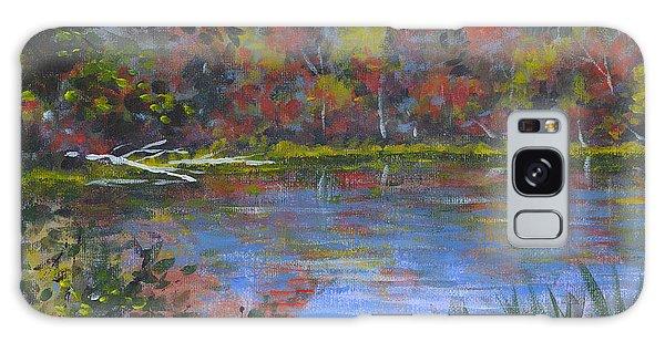 Algonquin Lake Sketch Galaxy Case