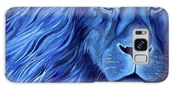 B B King Galaxy Case - Alice B Landrum Lion by Althia Prinsloo