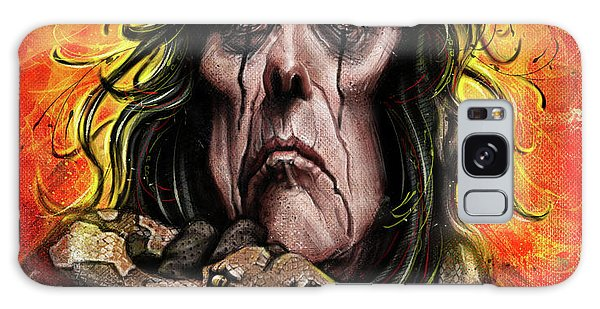 Alice Cooper Galaxy Case - Alice Cooper by Andre Koekemoer