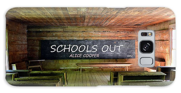 Alice Cooper Galaxy Case - Alice Coopers Schools Out 1972 by David Lee Thompson