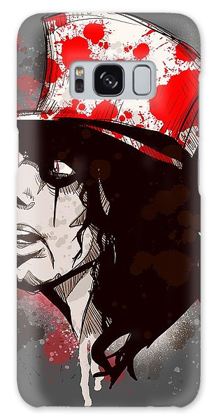 Alice Cooper Galaxy Case - Alice by Ludwig Van Bacon