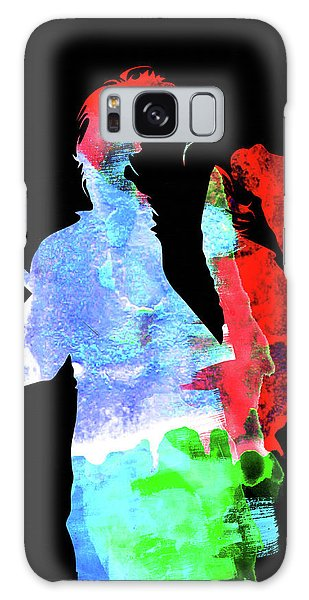 Alice Cooper Galaxy Case - Alice Watercolor II by Naxart Studio