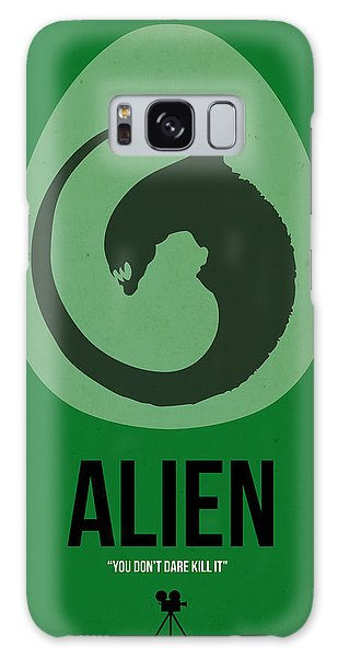 Outer Space Galaxy Case - Alien by Naxart Studio