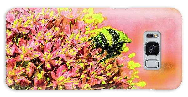 Allium With Bee 1 Galaxy Case
