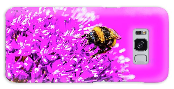 Allium With Bee 2 Galaxy Case