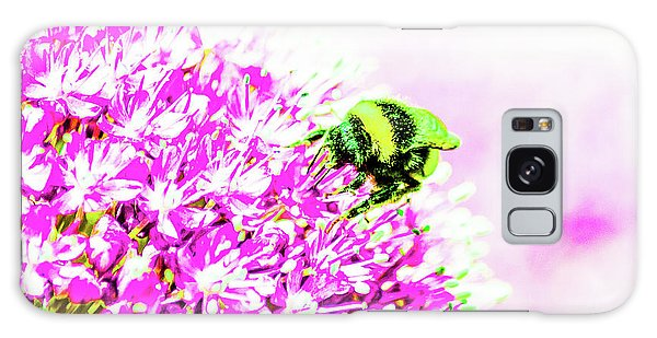 Allium With Bee 3 Galaxy Case