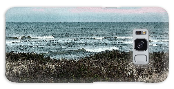 Galaxy Case - Along Cape Cod II - Watercolor by Suzanne Gaff