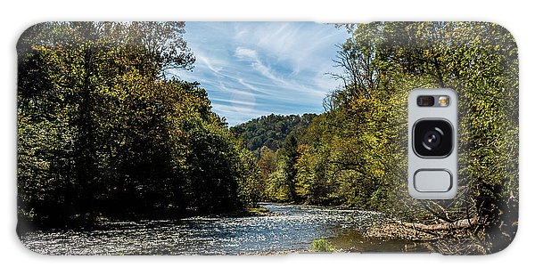 Along Oconaluftee River Trail Galaxy Case