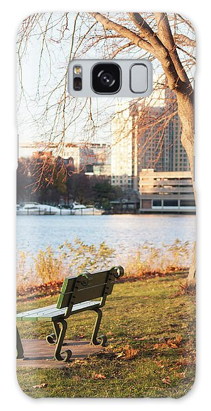 Galaxy Case - Along The Charles by Suzanne Gaff