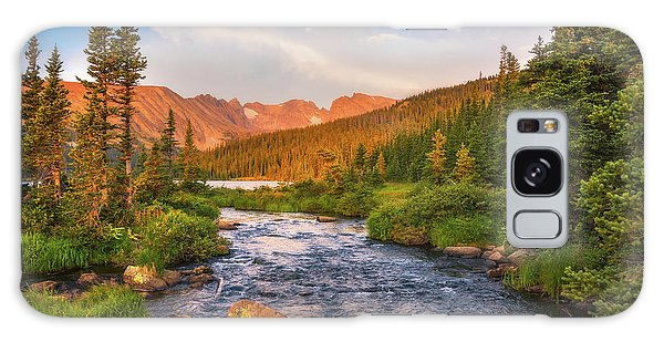 Indian Peaks Wilderness Galaxy Case - Alpenglow Creek by Darren White