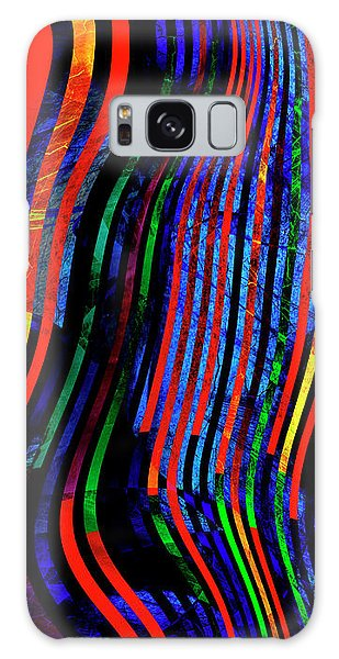 Galaxy Case featuring the digital art Always Between The Lines by Edmund Nagele